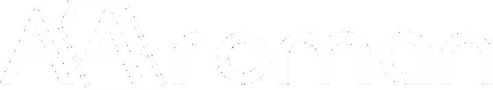 A4roman | A4roman. Logo Blanco