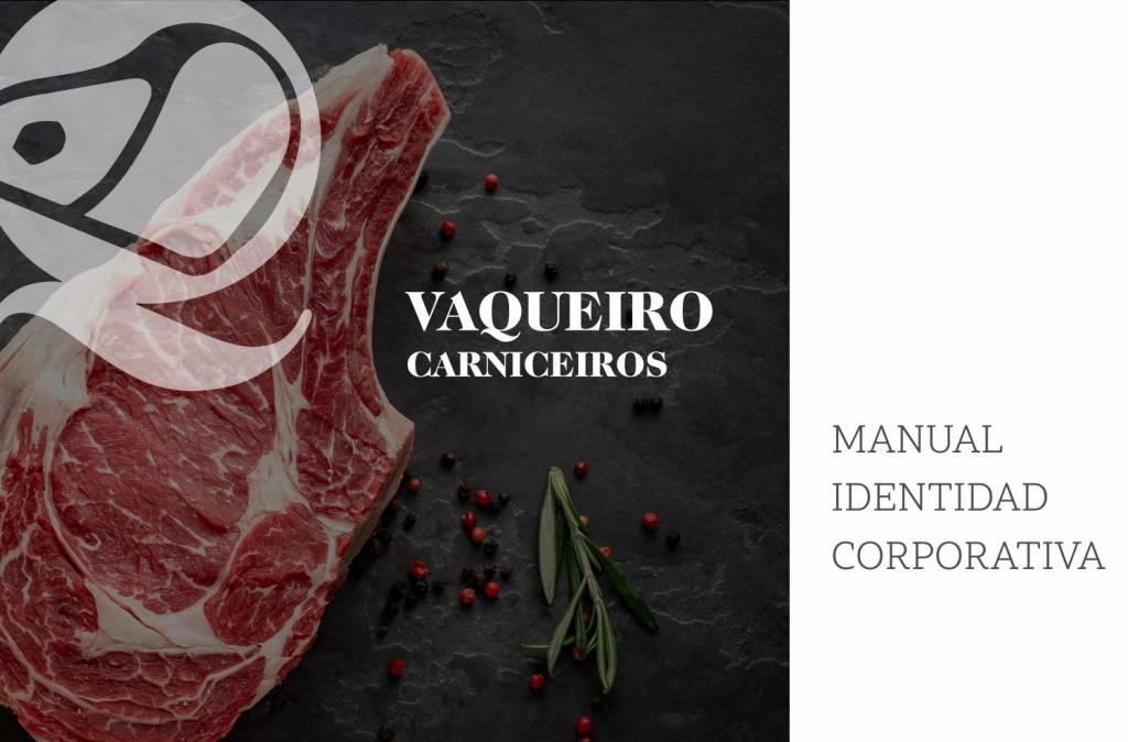 A4roman | Vaqueiro Carniceiros Manual Identidad Corporativa