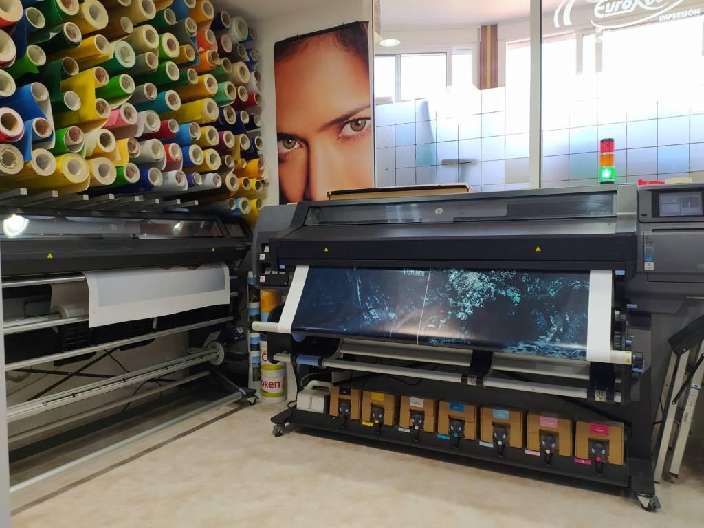 Impresion Digital Latex Hp 570 360 Gran Formato Vinilo Lona Produccion Servicios Graficos